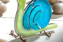 Fused Glass ---Whimsical & Ornaments