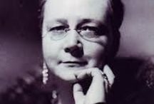 dorothy l. sayers (1893 - 1957) / Dorothy Leigh Sayers, a renowned English crime writer, poet, playwright, essayist, translator and Christian humanist. Also a student of classical and modern languages. Best known for her mysteries, a series of novels and short stories set between the First and Second World Wars that feature English aristocrat and amateur sleuth Lord Peter Wimsey, that remain popular to this day. However, Sayers herself considered her translation of Dante's Divine Comedy to be her best work.