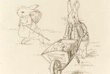 beatrix potter sketches