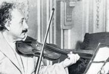 """albert einstein (1879 – 1955) / German-born theoretical physicist who developed the general theory of relativity, one of the two pillars of modern physics (alongside quantum mechanics). While best known for his mass–energy equivalence formula E = mc2 (which has been dubbed """"the world's most famous equation""""), he received the 1921 Nobel Prize in Physics """"for his services to theoretical physics, and especially for his discovery of the law of the photoelectric effect"""". The latter was pivotal in establishing quantum theory."""