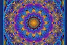 Mandalas / Art-therapy - spirituality - religion / by Annie
