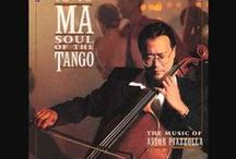 music magic: yo-yo ma / Yo-Yo Ma (born October 7, 1955) an American cellist. A child prodigy, was performing by age 5. Completed a Bachelor's degree from Harvard University in 1976. Played as a soloist with many major orchestras. His 75 albums have received fifteen Grammy Awards. Also recorded American bluegrass music; traditional Chinese melodies;  tangos of Argentinian composer Ástor Piazzolla; Brazilian music; & collaborated with Bobby McFerrin. Ma's primary performance instrument is a Montagnana cello built in 1733