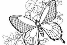 Coloring pages & drawings / coloring pages and other designs / by Annie