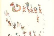 codex - precolombian / - Codex Dresdensis (1200-1250) -