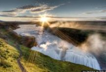 Gullfoss waterfall | Summer / All the beautiful pictures of Gullfoss waterfall in the summer time in Iceland