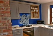 Patterned & Image Glass Splashbacks / This board contains kitchen ideas and advice focusing on glass splashbacks in images and patterns.  Glass is the ideal material in kitchen design, as you can choose virtually anything to create a completely unique look.