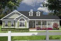 HOMES & HOUSE PLANS 2 / by Sandy H