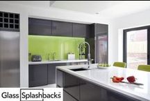 Green Glass Splashbacks / Whatever your inspiration, we can make it. Explore our albums for inspiration on Glass Splashbacks. This album contains different styles of kitchens with green glass splashbacks. DIY Splashbacks create bespoke glass products in any colour, pattern or image. Whether it's a splash back, worktop or table top, it's possible to personalise your glass to suit your existing decor, or taste. Visit www.diysplashbacks.co.uk for more inspiration!