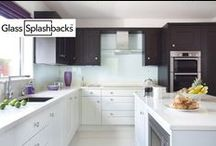 Blue glass splashbacks / Whatever your inspiration... We can make it. We create bespoke glass products in any size, colour, pattern or image. Enabling you to create something totally unique, and loved by you. Explore our vast selection of Pinterest images or visit glasssplashbacks.com to discover more.