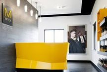 Wadsworth Salon Interiors / Clean, modern salon furnishings designed and manufactured in the USA.