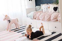 Kids Room Girls  ||   meisjeskamer / Er is zoveel leuks voor meiden te vinden, welke stijl kies jij? lief, Scandinavisch, hip, roze, pastel, knuffels, hartjes, stoer..?