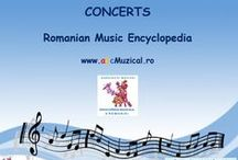 MY CONCERTS / UPCOMING MUSIC EVENTS IN ROMANIA