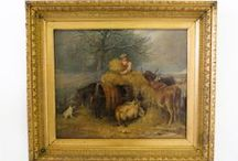 Antique Paintings & Pictures / A collection of antique painting and pictures we have available to purchase from our website.