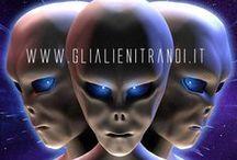 Gli Alieni Tra Noi - l'hub che ti informa dove gli altri non osano! / portale dedicato al tema dell'ufologia