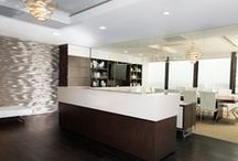 Business Interiors / A well-designed business interior inspires, facilitates productivity, and reinforces branding.