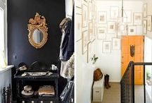 Entryway / Hallway * Small space with lots of potential * Functionality * Personality * Organization * Colorization * Optimization * Boho * Nordic Scandinavian, Minimal