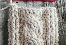 Crochet chart and techniques