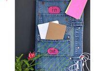 riciclo jeans e stoffa