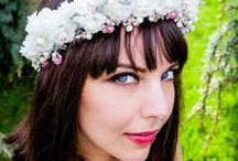 Bohemian Bride / Bohemian headbands insipired by Slavic traditions http://www.slavicaura.com/
