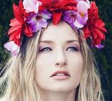 Floral Headbands / Bohemian and flower headbands insipired by Slavic Traditions. http://www.slavicaura.com/