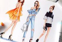Fashion design & Drawings