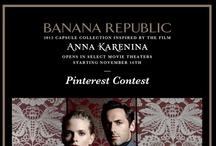 Banana Republic Anna Karenina Collection Contest / Men's Apparel