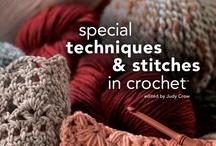 Crochet stitch patterns and tips