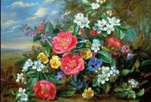 Albert Williams (20.03.1922-) / Albert Williams was born in Sussex on 20th March 1922. http://www.felixr.com/print-on-demand/explore/detail/12463/albert-williams-a-gathering-of-albertine-roses