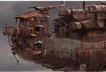 Ian McQue / Concept Artist. Love it