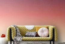 Interior / Living room / Beautiful simple interiors, not overstepped in which you can imagine yourself living