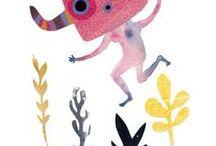 illustration, drawings • Illustrations, dessins / Hand traced and digital illustrations, figurative drawings and illustrations, all techniques • Dessins et  illustrations numériques, toutes techniques.