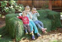 dirt digging sisters blog / diy yard projects, edible organic gardening, kids and gardening