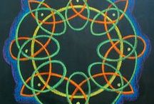 Knots and Braids Form Art / Ideas for braided and knotted forms, and celtic knots in form art 10 year olds