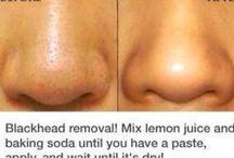 DIY beauty / Removing blackheads