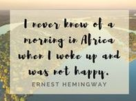 Travel Quotes / Interesting thoughts and perspectives on traveling and travelers.