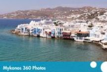 360 images of Greece / Beautiful 360 animations of Greece and the Greek islands.