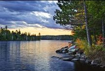 Haliburton Highlands and Algonquin Park / Our cottage lives in a land of magic / by Patricia