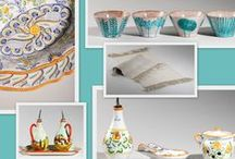 Colorful kitchen / From ceramics to marble all the ingredients to spice up your kitchen with Made in Tuscany artifacts.