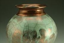 Raku Pottery / certainly caught my eye years ago / by Patricia