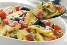 CSA Recipes - Summer Squash and Zucchini