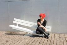 Furniture/ street furniture / Stop, sit down and enjoy the city