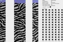 sznury szydełkowe / sznury z koralików na szydełku