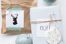Happy Christmas / Food, decoration and lovely things about Christmas