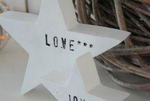 Decoration *Stars* / Kids room, kids decoration: Stars