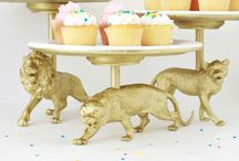 Creative Cake Stands / DIY Creative Cake Stands