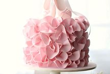 < Ballerina party > / Cookies, candy, party invites, cakes and decoration... Everything in pink!