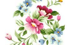 çiçek resim sanatı