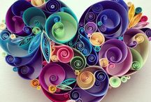 Paper Craft / quilling, roll art