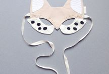 ~ Masks for kids ~ / Lovely masks for adults and kids.