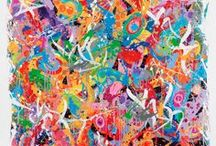 Pictural, abstract Art • Art pictural, art abstrait